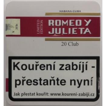 ROMEO Y JULIETA CLUB 20 TIN...