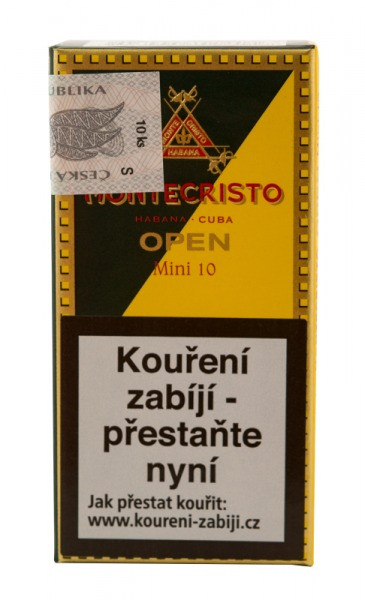 MONTECRISTO OPEN MINI 10