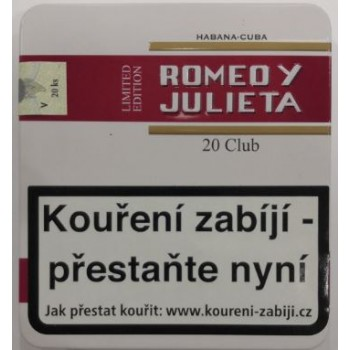 ROMEO Y JULIETA CLUB 20 TIN...