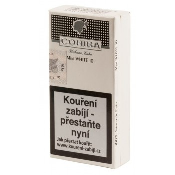 COHIBA MINI WHITE 10